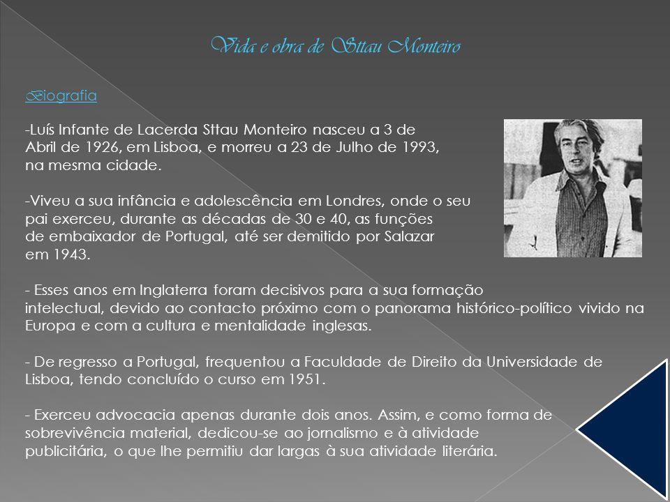 Vida e obra de Sttau Monteiro