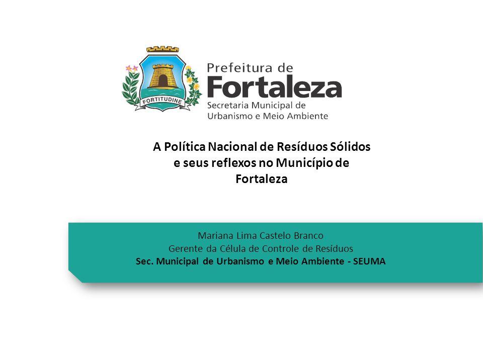 Sec. Municipal de Urbanismo e Meio Ambiente - SEUMA