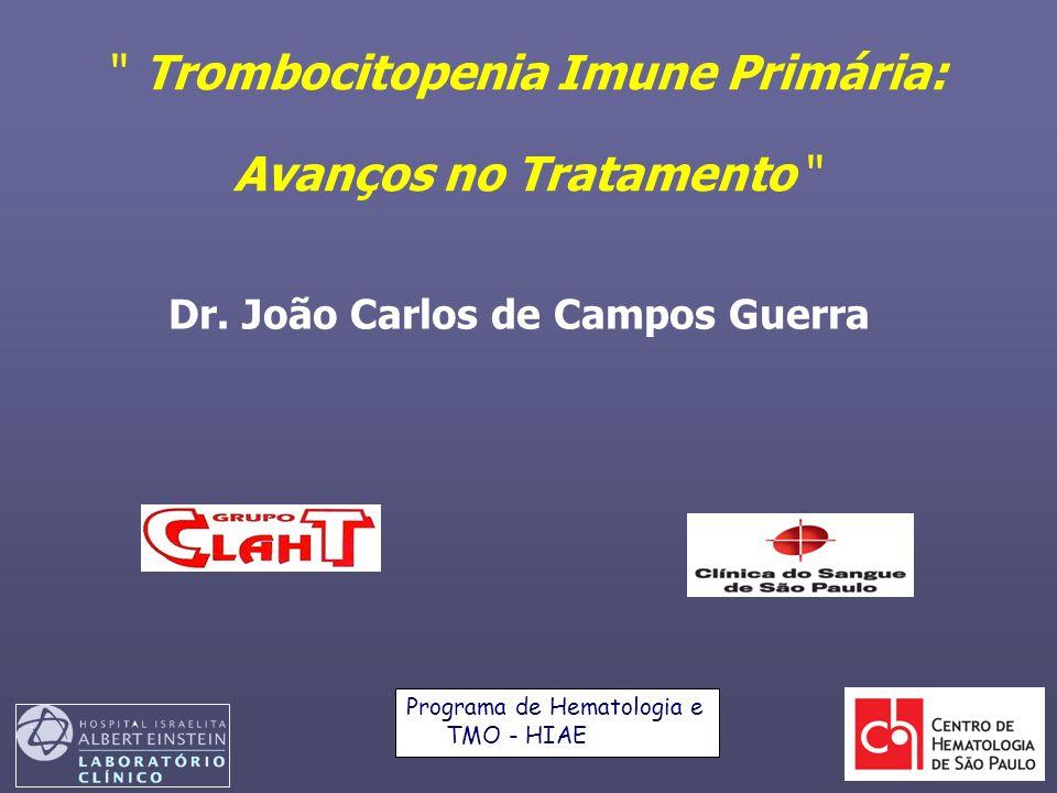 Trombocitopenia Imune Primária: Avanços no Tratamento