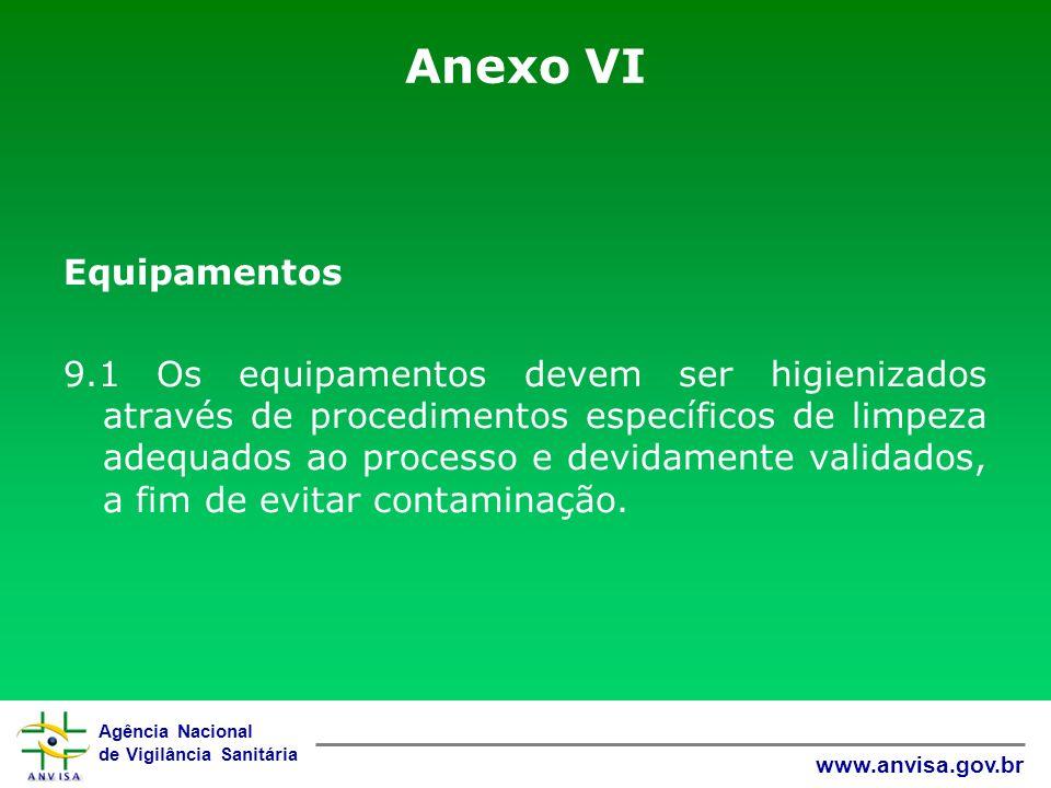 Anexo VI Equipamentos.
