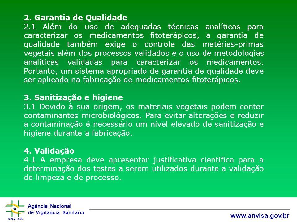 2. Garantia de Qualidade
