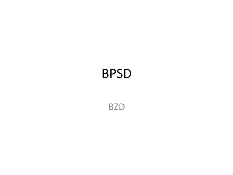 BPSD BZD