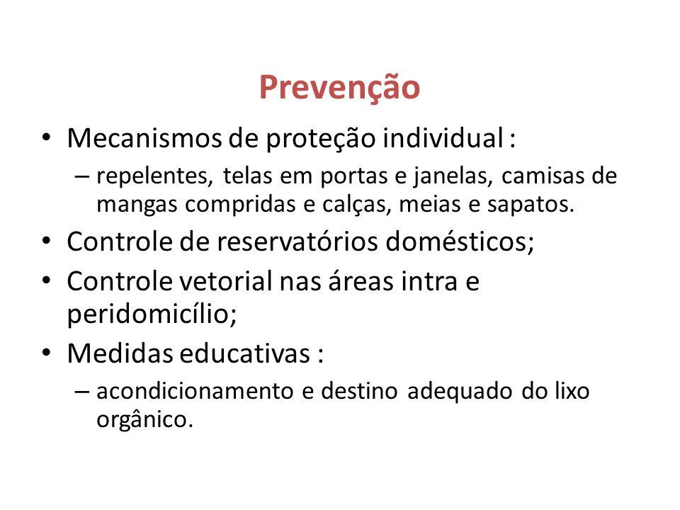 Prevenção Mecanismos de proteção individual :