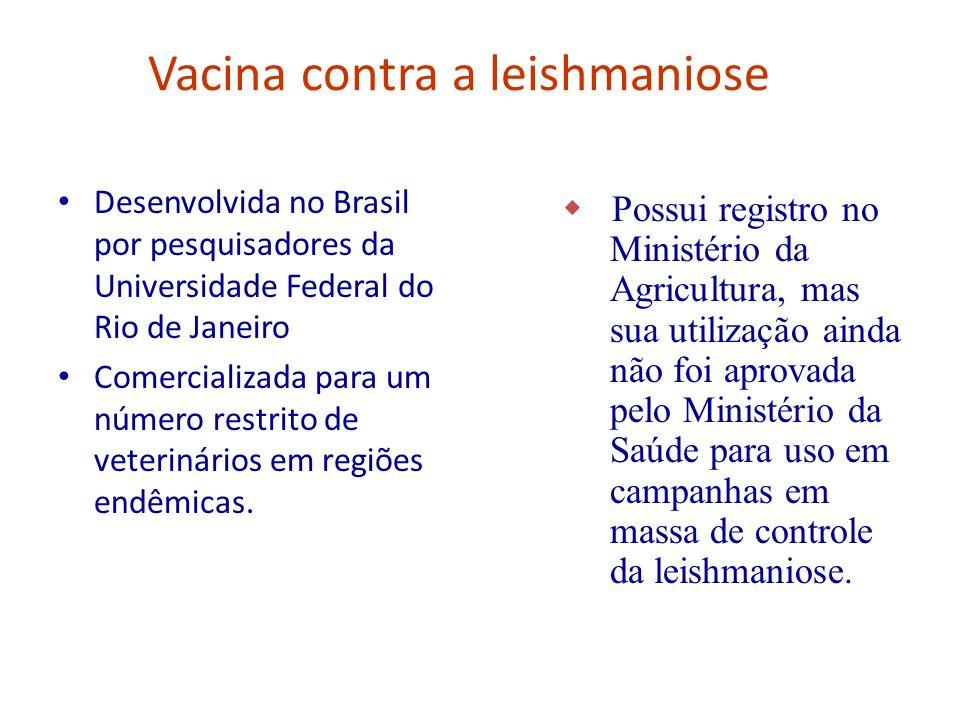 Vacina contra a leishmaniose