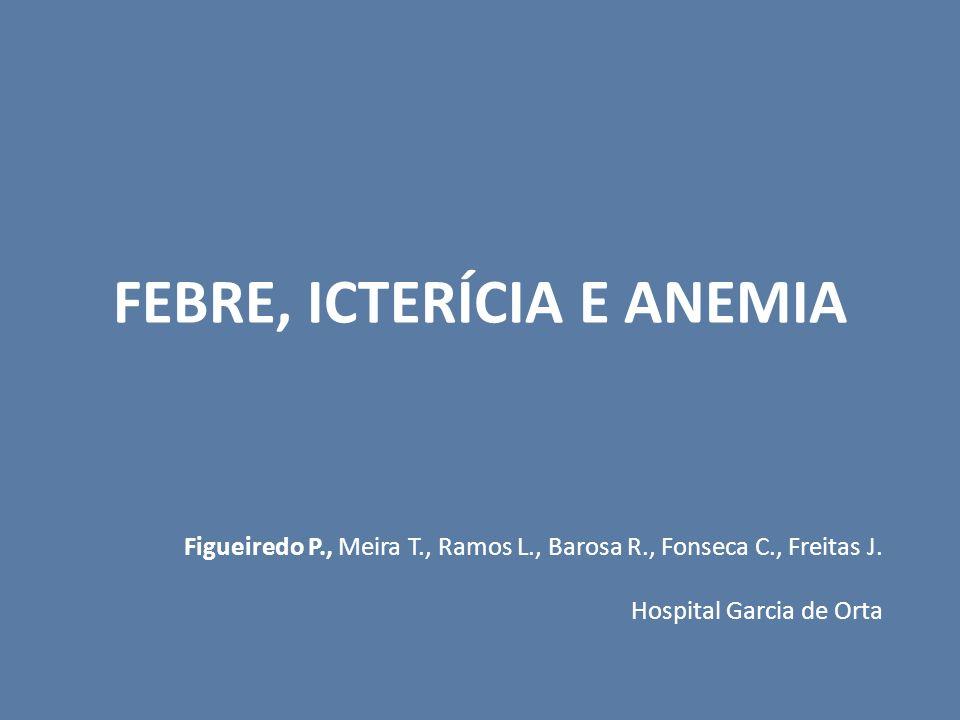 FEBRE, ICTERÍCIA E ANEMIA