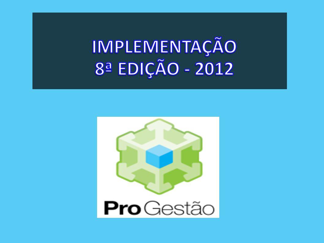 IMPLEMENTAÇÃO 8ª EDIÇÃO - 2012