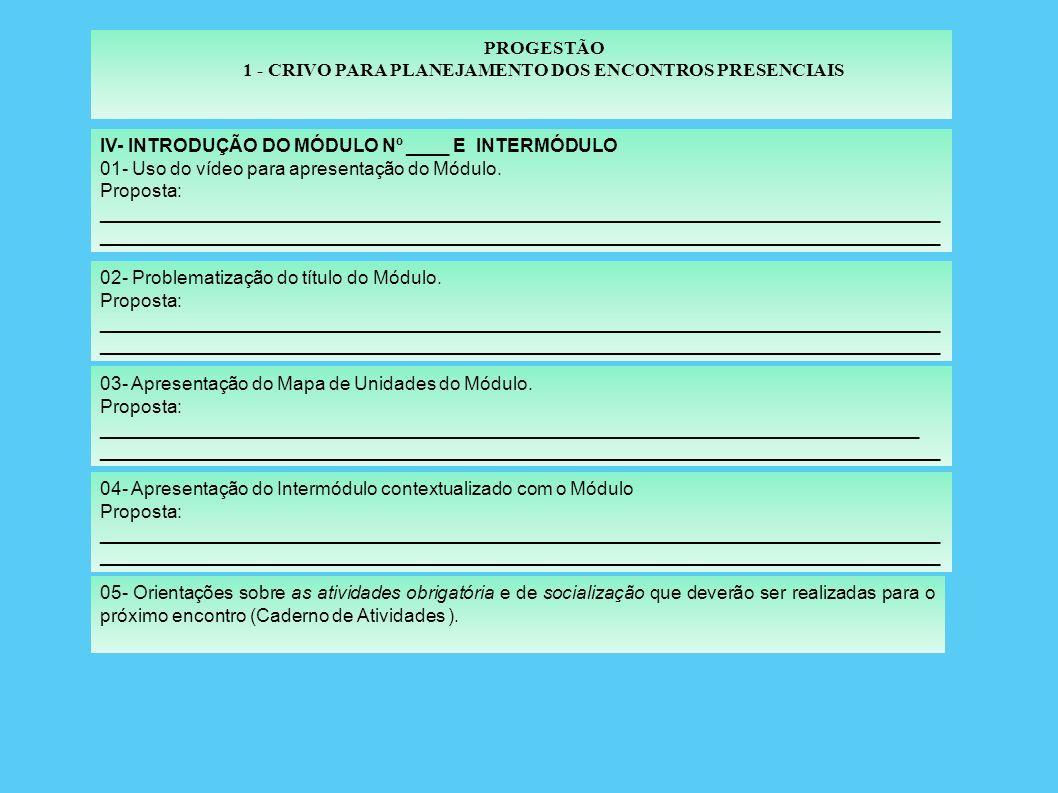 1 - CRIVO PARA PLANEJAMENTO DOS ENCONTROS PRESENCIAIS