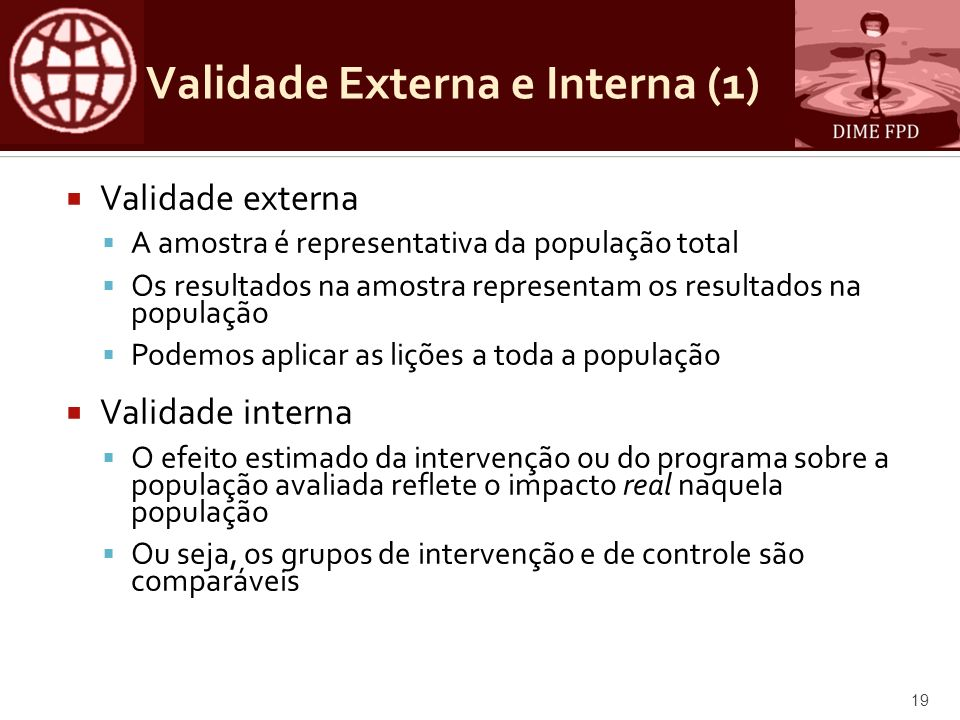 Validade Externa e Interna (1)