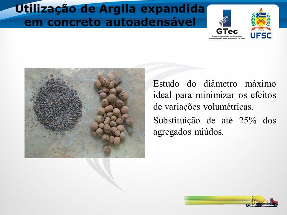 Utilização de Argila expandida em concreto autoadensável