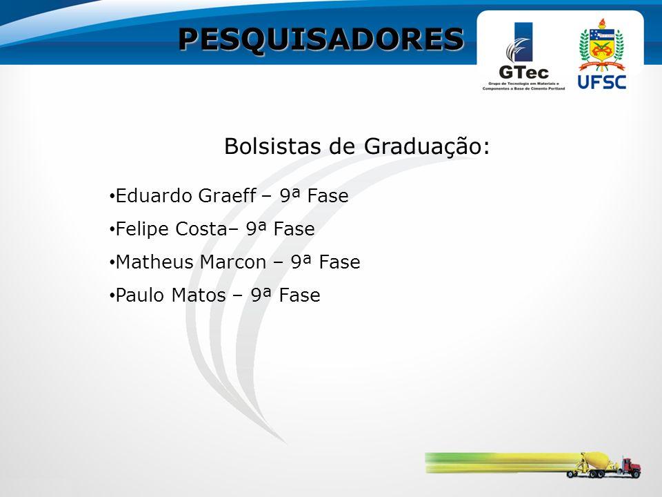 Bolsistas de Graduação: