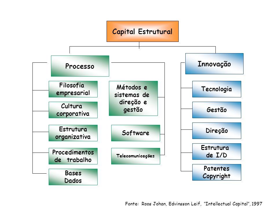Capital Estrutural Processo Innovação