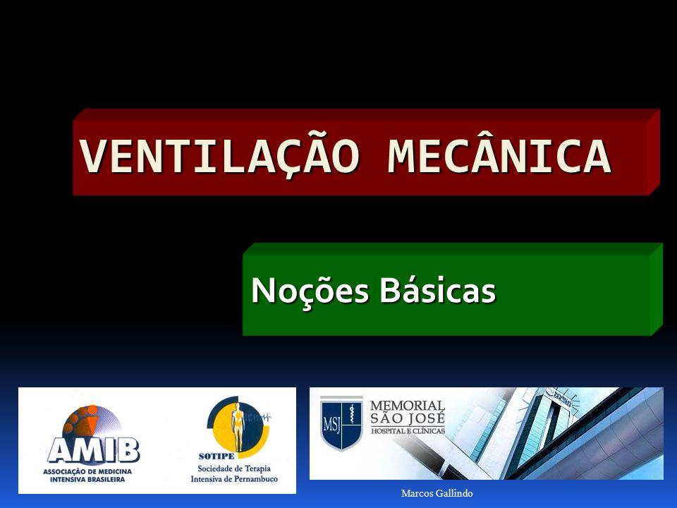 Ventilação Mecânica Noções Básicas Marcos Gallindo