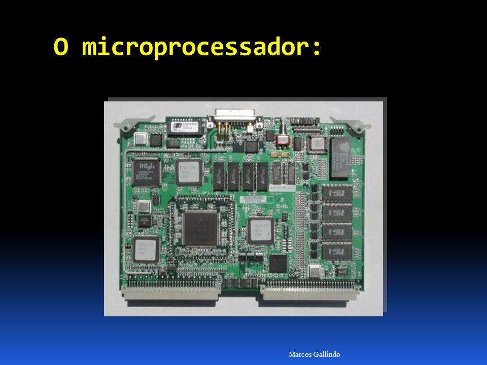 O microprocessador: Marcos Gallindo
