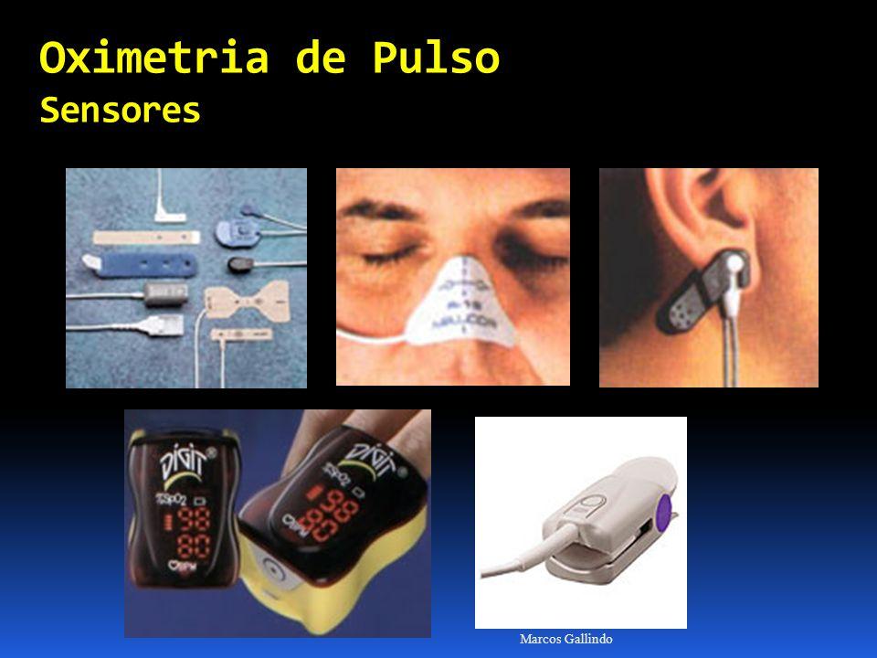 Oximetria de Pulso Sensores