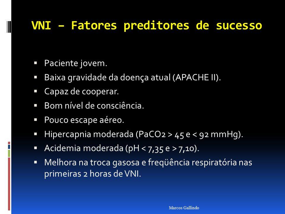 VNI – Fatores preditores de sucesso