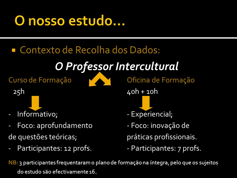 O Professor Intercultural