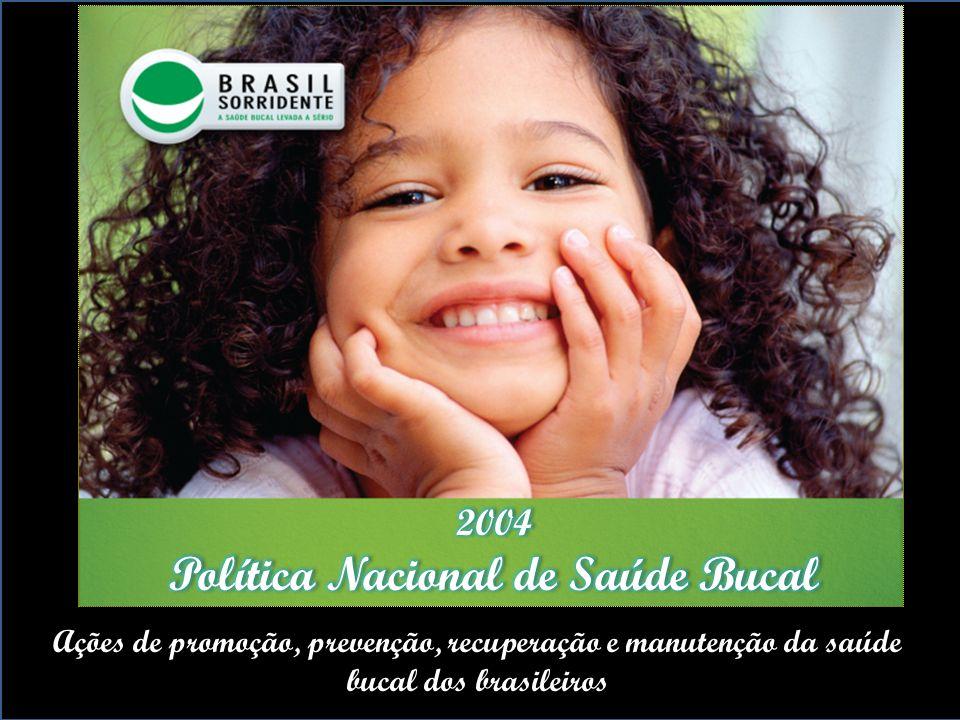 Política Nacional de Saúde Bucal