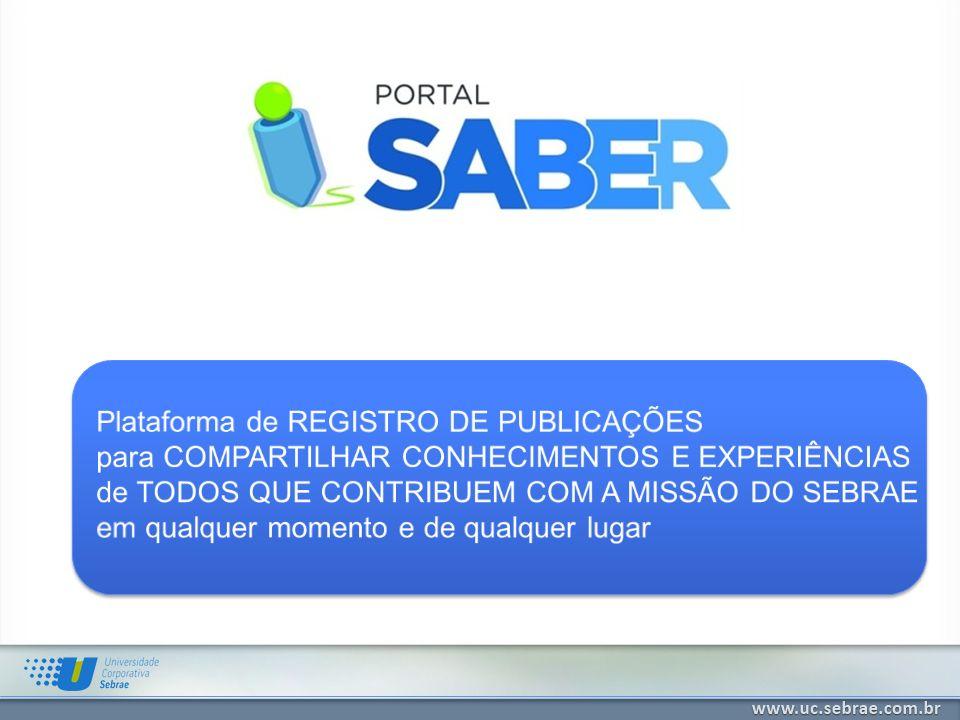 Plataforma de REGISTRO DE PUBLICAÇÕES