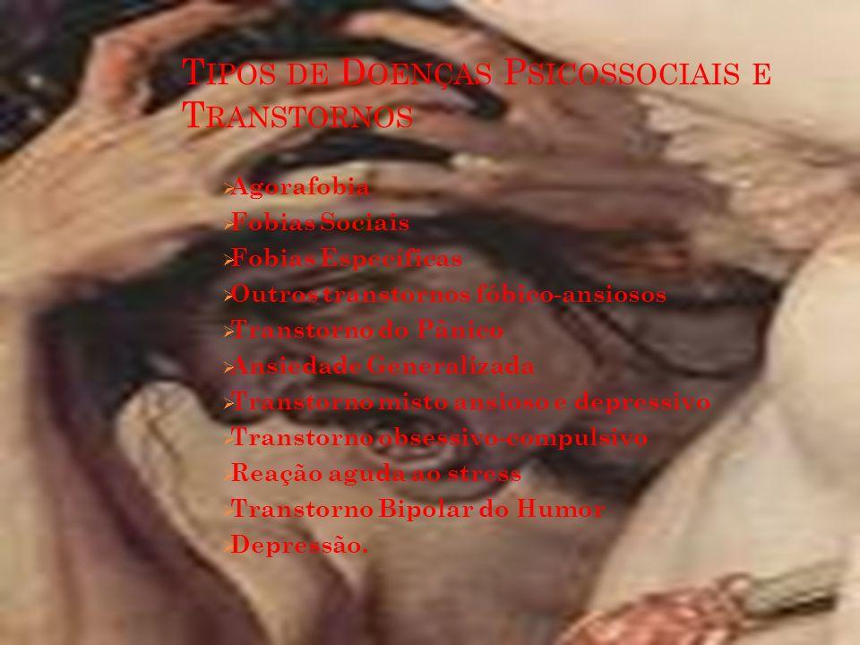 Tipos de Doenças Psicossociais e Transtornos