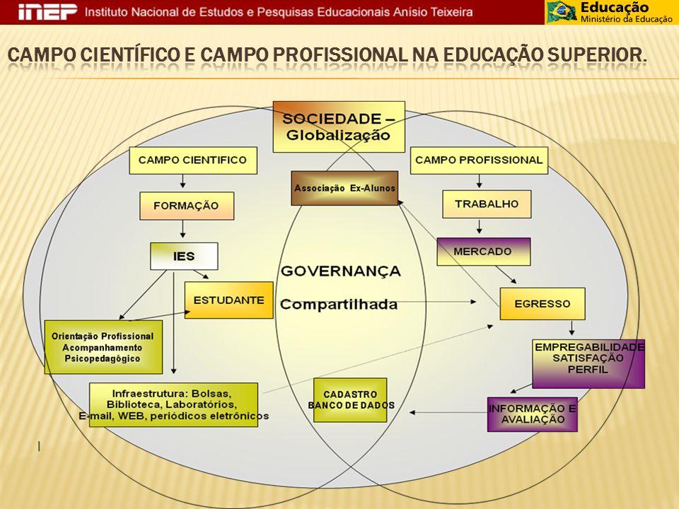 Campo Científico e Campo Profissional na Educação Superior.