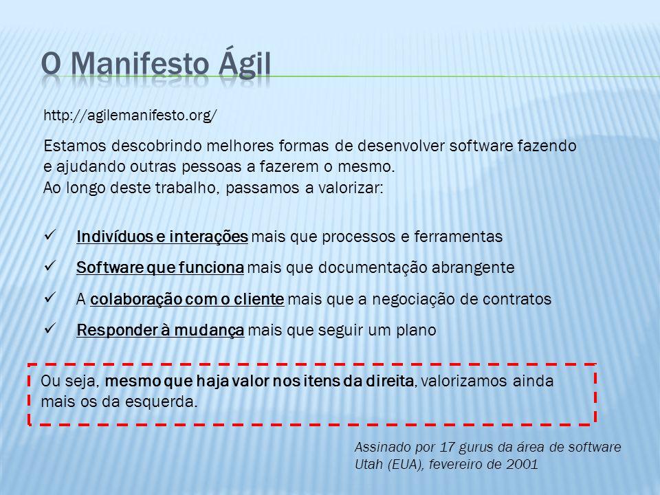 30/03/2017 O Manifesto Ágil. http://agilemanifesto.org/