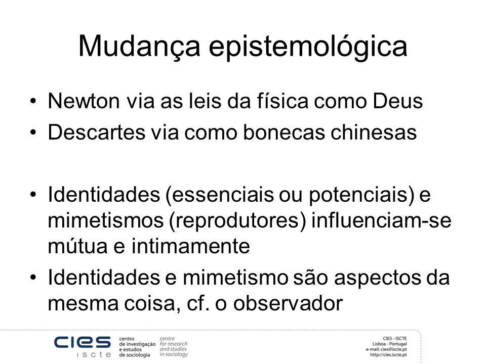 Mudança epistemológica