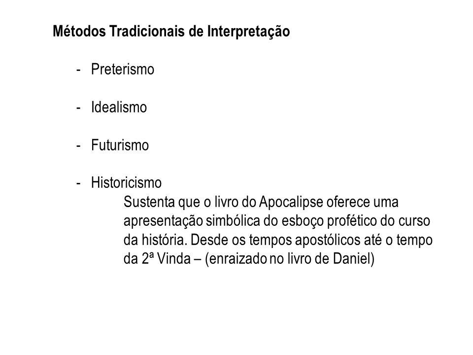 Métodos Tradicionais de Interpretação