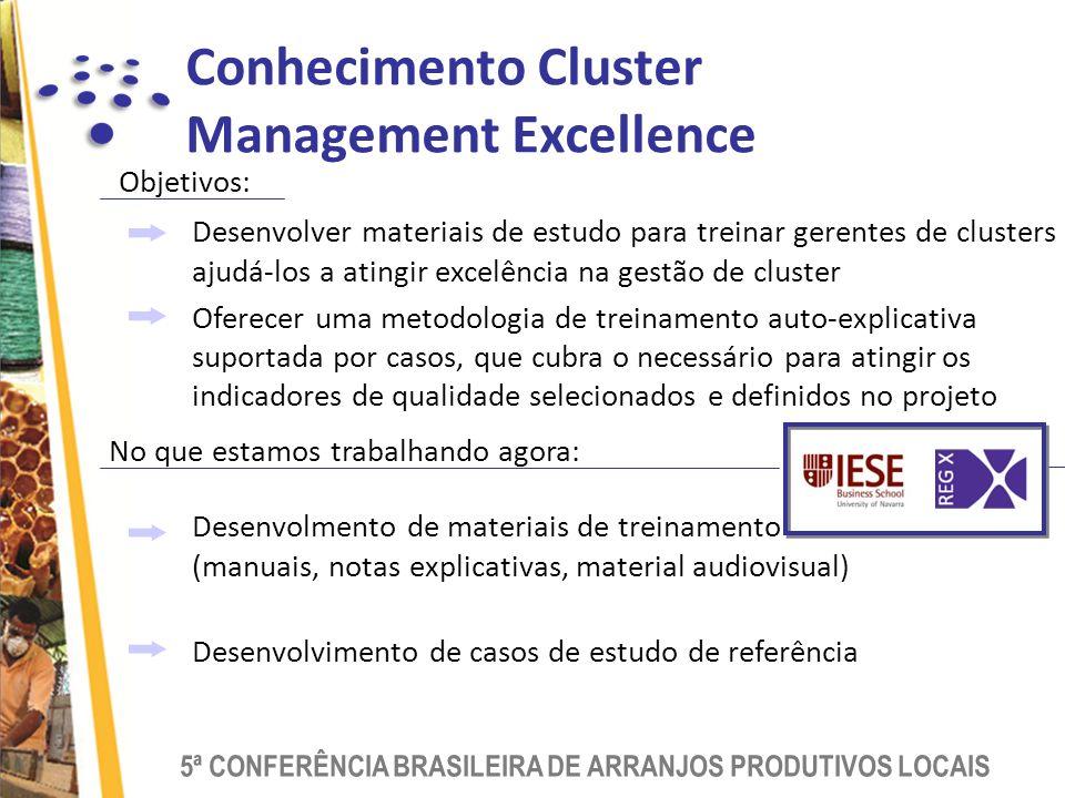 Conhecimento Cluster Management Excellence