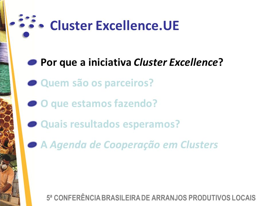 Cluster Excellence.UE Por que a iniciativa Cluster Excellence