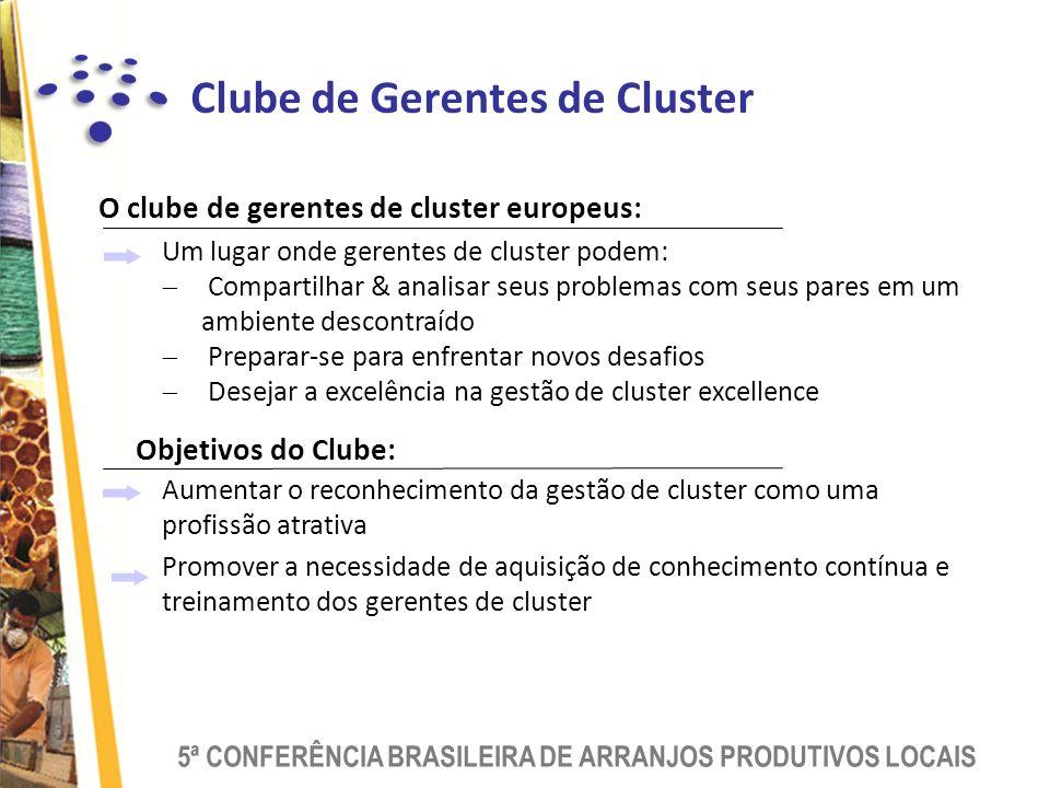 Clube de Gerentes de Cluster