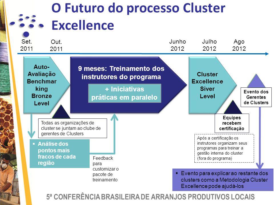 O Futuro do processo Cluster Excellence