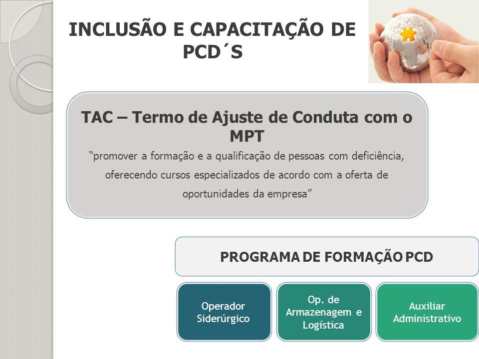 INCLUSÃO E CAPACITAÇÃO DE PCD´S
