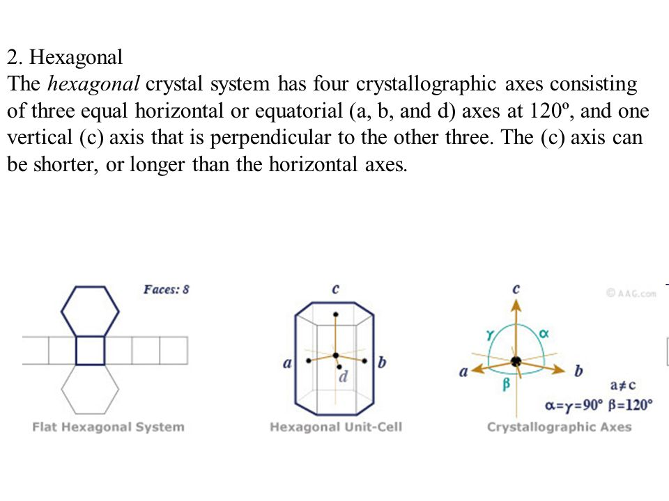 2. Hexagonal