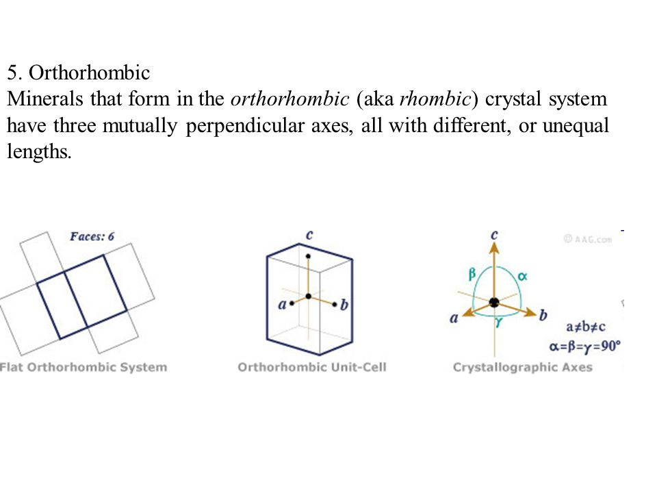5. Orthorhombic