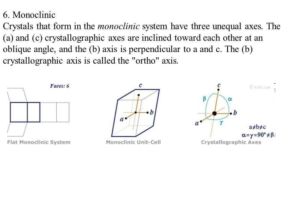 6. Monoclinic