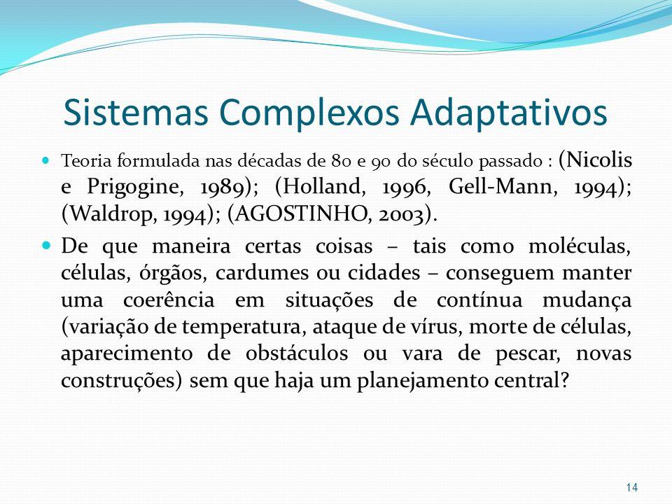 Sistemas Complexos Adaptativos