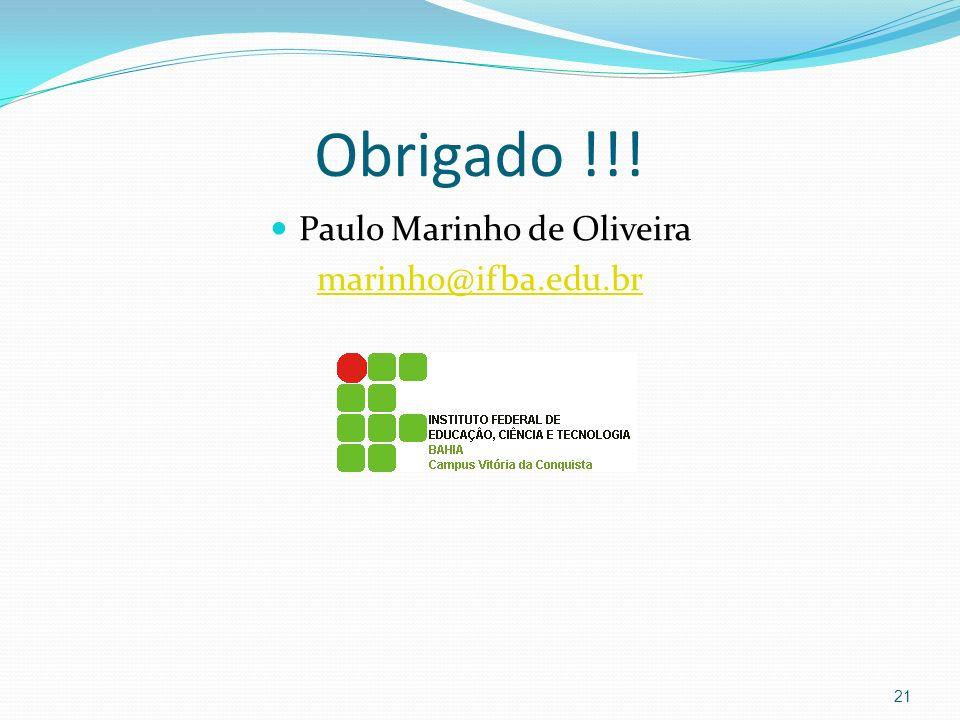 Paulo Marinho de Oliveira