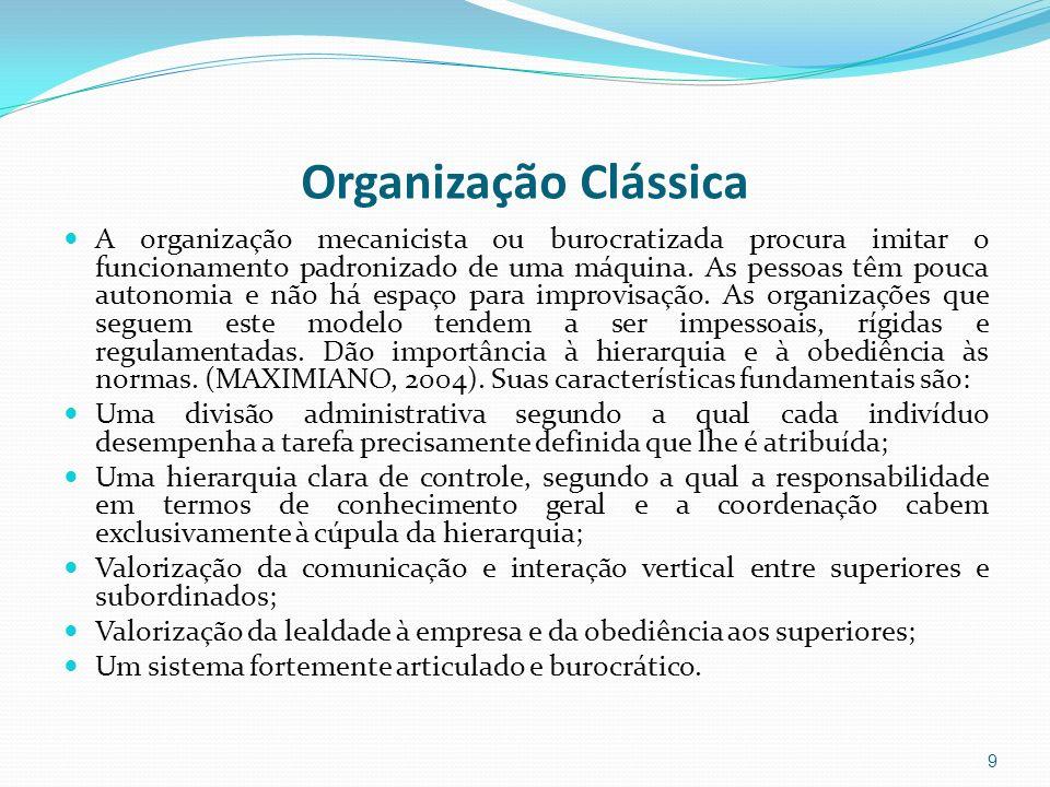 Organização Clássica