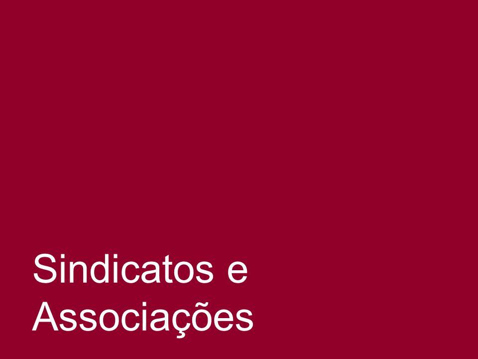 Sindicatos e Associações