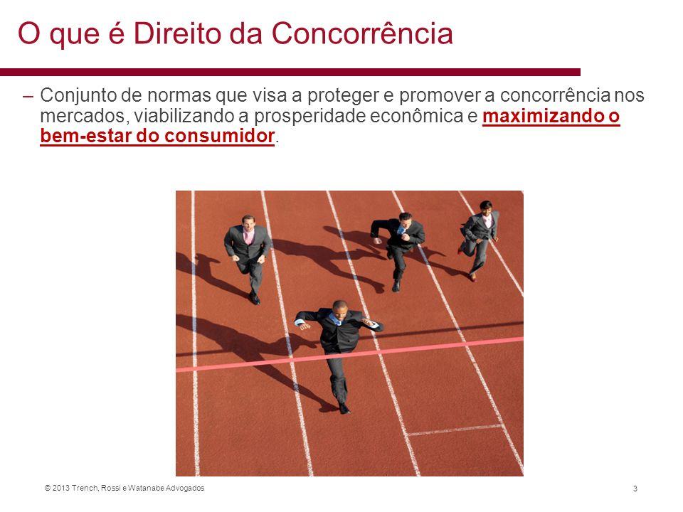 O que é Direito da Concorrência