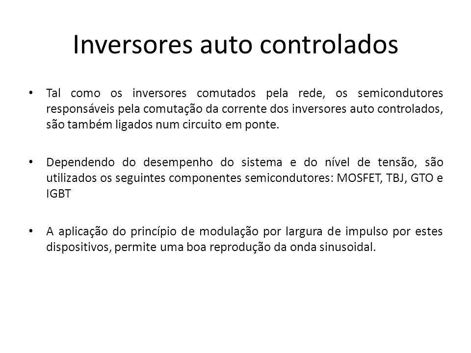 Inversores auto controlados