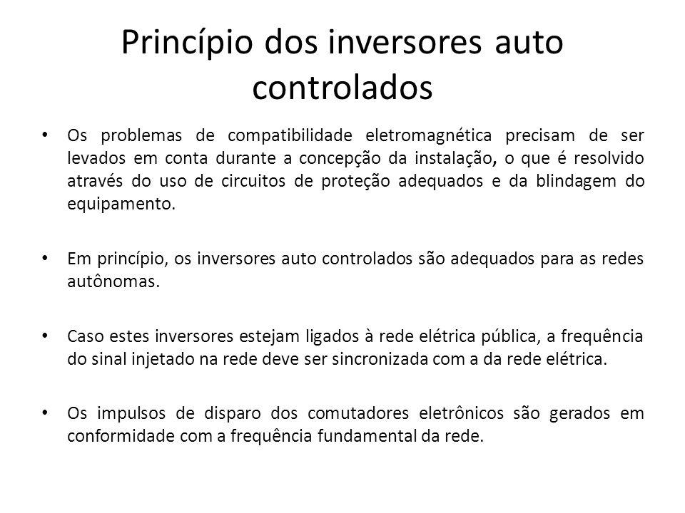 Princípio dos inversores auto controlados