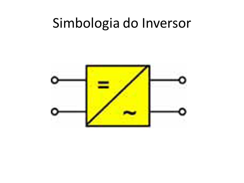 Simbologia do Inversor