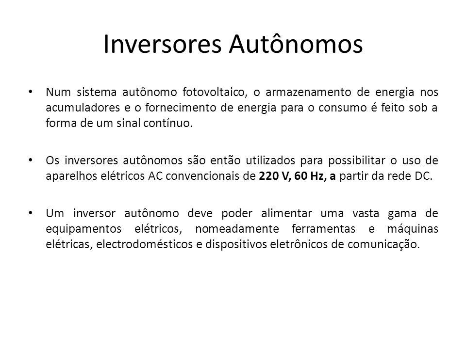 Inversores Autônomos