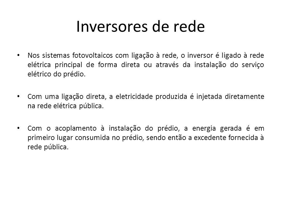 Inversores de rede