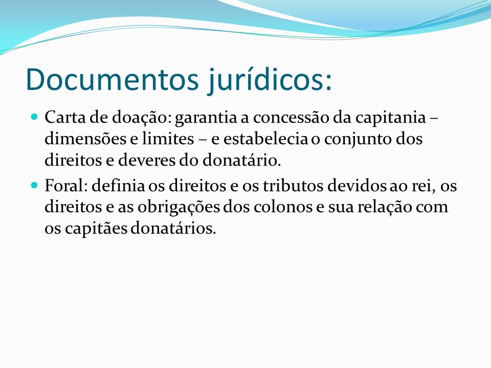 Documentos jurídicos: