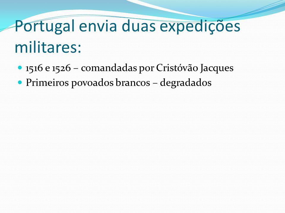 Portugal envia duas expedições militares: