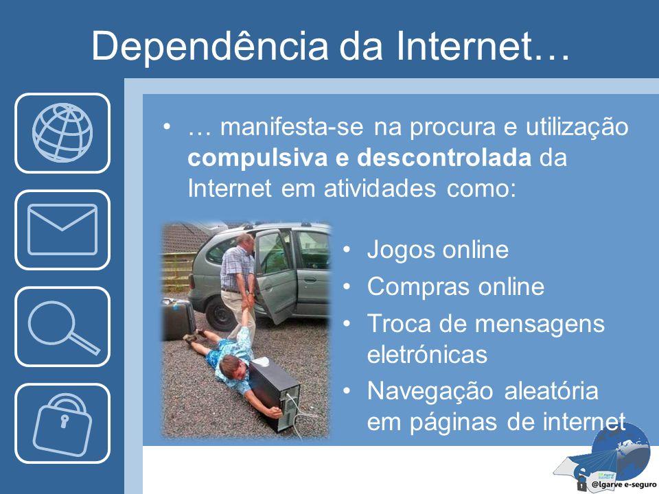 Dependência da Internet…