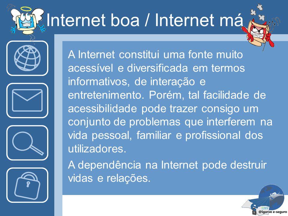 Internet boa / Internet má