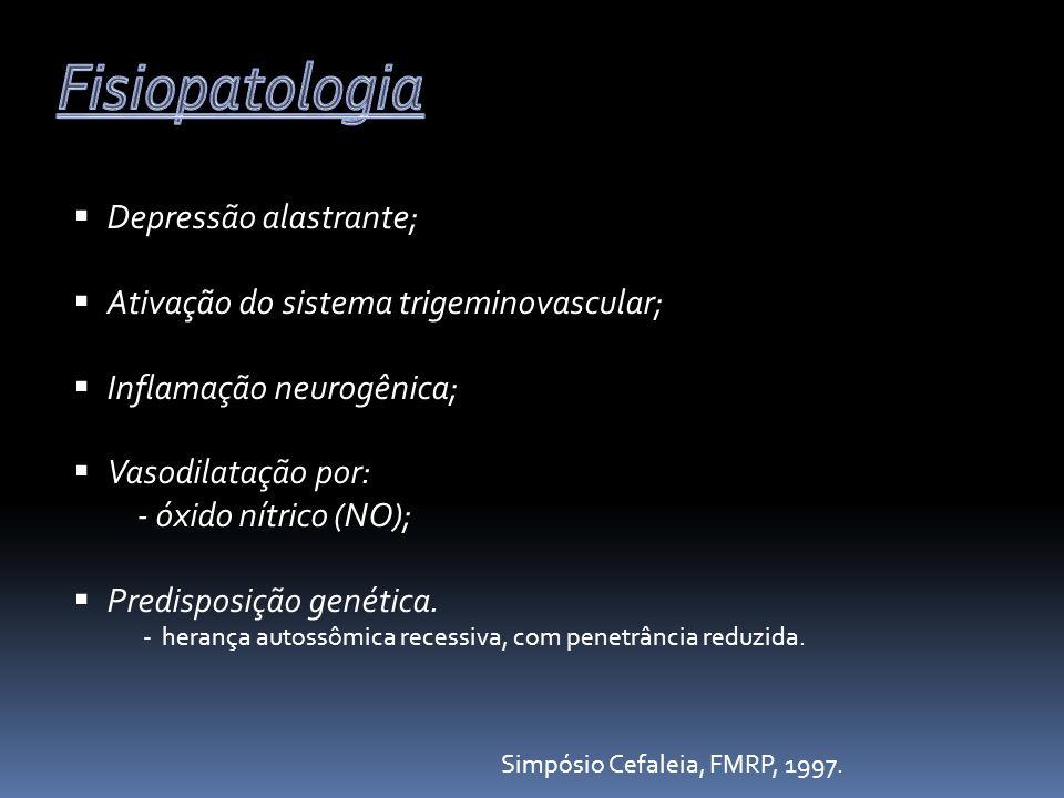 Fisiopatologia Depressão alastrante;